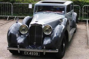 Lagonda V12  short chassis sports saloon by  Freestone and Webb