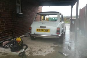 1986 AUSTIN MINI MAYFAIR WHITE Restored