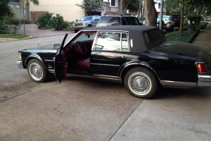 CADILLAC SEVILLE 1978 with 85,000 orig. miles Black w/red leather interior