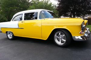1955 Chevy 2 Door POST Body Professionally Restored /custom paint SEE VIDEO