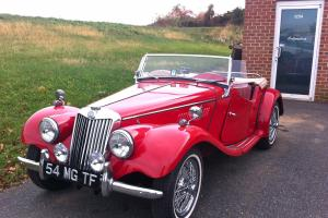 1954 MG TF Older Restoration Red