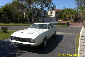 Ford 1972 Mustang Mach 1