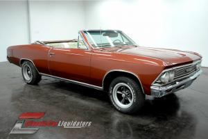 1966 Chevrolet Chevelle Convertible 283 V8 Powerglide Transmission LOOK AT THIS