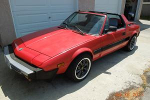 1987 Bertone X-1/9 Base Coupe 2-Door 1.5L