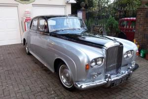 1965 BENTLEY S3 CLOUD SILVER/BLACK