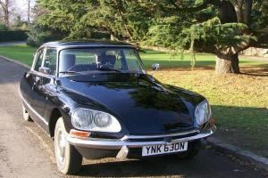1974 CITROEN DS 23 PALLAS AUTO BLACK