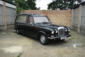 DAIMLER DS420 HEARSE FUNERAL VEHICLE NOT LIMOUSINE