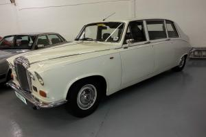 1985 DAIMLER LIMOUSINE AUTO WHITE NICE EXAMPLE PETROL  Photo