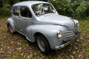 1954 RENAULT 750 POWDER BLUE, 11 MONTHS MOT, RESTORED CAR, RHD