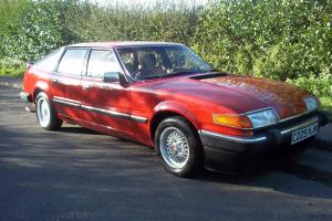 1985 ROVER SD1 3500 VITESSE RED 39500 miles  Photo