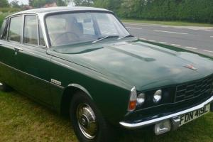 Rover p6 classic car  Photo