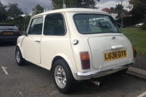 1994 ROVER MINI MAYFAIR WHITE  Photo