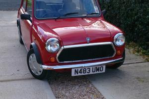 1995 ROVER MINI SPRITE RED