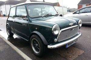 ROVER MINI COOPER 1275 SPI WITH CARB CONVERSION GREEN/WHITE 96 N REG