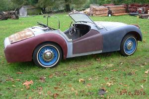 1956 Triumph TR3 US Import For Restoration