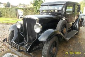 1932 ESSEX SUPER SIX - Vintage Car Good running order- Reg No HY 6537