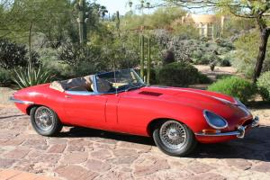 1967 Jaguar E-Type Series 1 Convertible.  Recent Concours judging score Photo