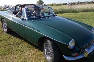MGB ROADSTER GREEN 1964 TAX EXEMPT..  Photo