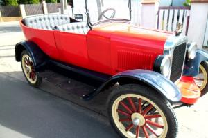 Overland Willys 1923 Touring
