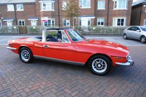 TRIUMPH STAG 4 speed manual with overdrive
