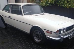 OLD ENGLISH WHITE TRIUMPH STAG 1977 3.0 Engine