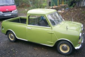 Austin Mini Pick Up 1965 Commercial BARN FIND STARTS DRIVES LOOK RARE