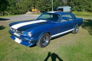 1965 Ford Mustang Coupe Tough 5L Manual Bench Seat 5 Speed Good Driver in Moreton, QLD