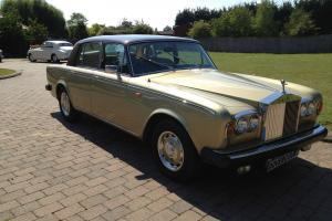 1978 Rolls Royce Silver Shadow 11. Unusual Colour Combination.  Photo