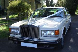 Rolls Royce Silver Spur LWB Leather NAV Cream Wedding Car For Sale  Photo
