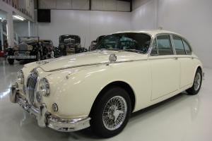 1964 JAGUAR MARK II 3.8 SALOON ONLY 49,228  MILES ,FACTORY FRONT AND REAR A/C