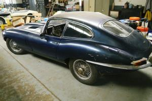 Jaguar E Type 1963 For Restoration  Photo