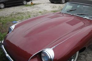 1970 Jaguar XKE II 2 Door Roadster Photo