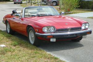 jaguar XJS convertible Red eBay Motors #370804564824
