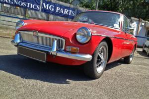 1970 Tax Exempt MGB GT in Red with Black Vinyl Interior, 1798cc Petrol