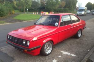 1979 FORD ESCORT RS 2000 RED px