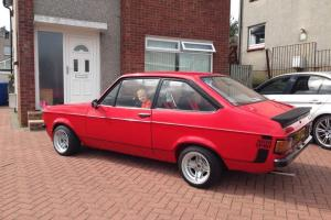 1980 FORD ESCORT 1600 SPORT RED