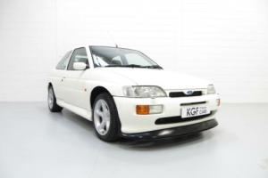 The Definitive Ford Escort RS Cosworth with 59,998 Miles, in Pristine Condition.  Photo