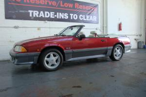 1991 Ford Mustang 5 litre GT Manual Very Low Mileage 38,000 miles