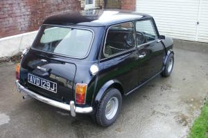 1971 MORRIS MINI COOPER 1275 S MARK 3 BLACK