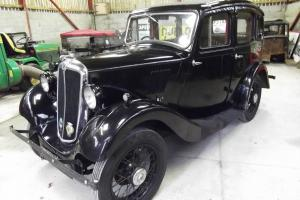 1936 Morris 8 Series I, 4 door, vintage style car, pre-war car, classic car