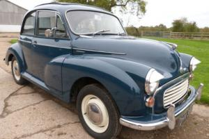 MORRIS MINOR 1000 SALOON - BEAUTIFUL CAR WITH WEBASTO ROOF
