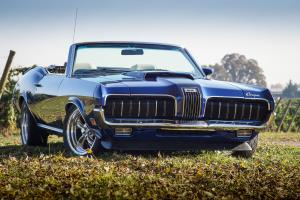 1970 Mercury Cougar XR-7 Convertible / 351-4V / 5-Speed / Competition Handling
