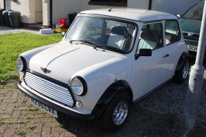 1991 ROVER MINI MAYFAIR WHITE