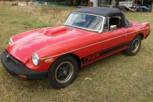 MGB 1977 350CI Chev 4 Speed Manual Convertible LHD in Brisbane, QLD