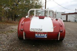 Austin Healey Rare 2 seater 100 6 Race Car