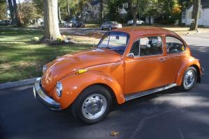 1972 Volkswagen Superbeetle, Bright Orange, Great Condition!