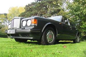 Beautiful Bentley Turbo R Grey with Cream Leather FSH NEW MOT TAX LOW MILES  Photo