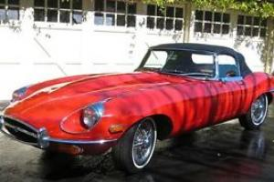 JAGUAR XKE E-TYPE SERIES 2 ROADSTER BEAUTIFULLY RESTORED Photo