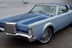 """CONTINENTAL MARK III 22"""" WHEELS/TIRES CUSTOM PAINT PRO TOURING MAKE OFFER"""