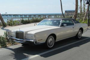 1972 Lincoln Continental Mark IV BEAUTIFUL 2 OWNER CAR NO RESERVE!!!